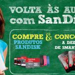 PROMOÇÃO VOLTA ÀS AULAS COM SANDISK