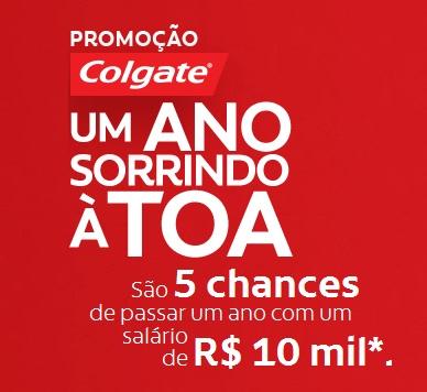PROMOÇÃO-COLGATE-UM-ANO-SORRINDO-A-TOA