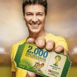 Promoção Mais de 2000 Ingressos Para a Copa do Mundo da FIFA