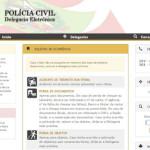 Delegacia Virtual SC, Boletim de Ocorrência, Telefone