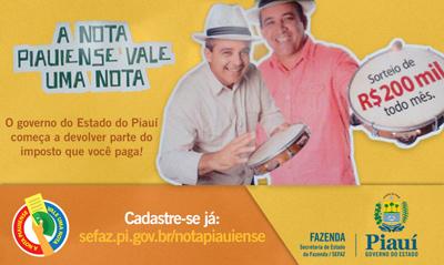 Nota Fiscal Piauiense: Cadastro, Consulta de Cupons, Sorteios